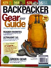 2007 Backpacker Gear Guide